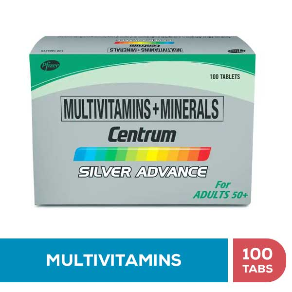 CENTRUM SILVER ADVANCE • 100 Tabs