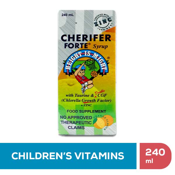 Cherifer Forte Syrup with Zinc • 240ml