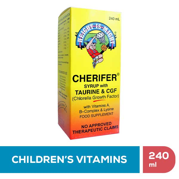 Cherifer Syrup • 240ml