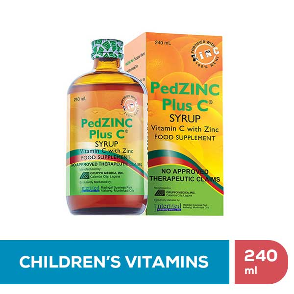 PedZinc Plus C Syrup • 240ml